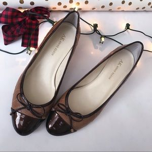 Anne Klein Shoes Low Heels 7M Leather Classsic
